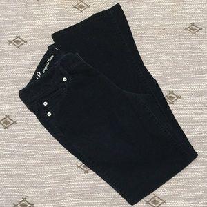Loft Navy corduroy Pants size 4P